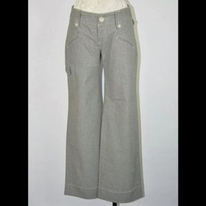 James Perse Los Angeles 25 Wide Leg Taupe Pants